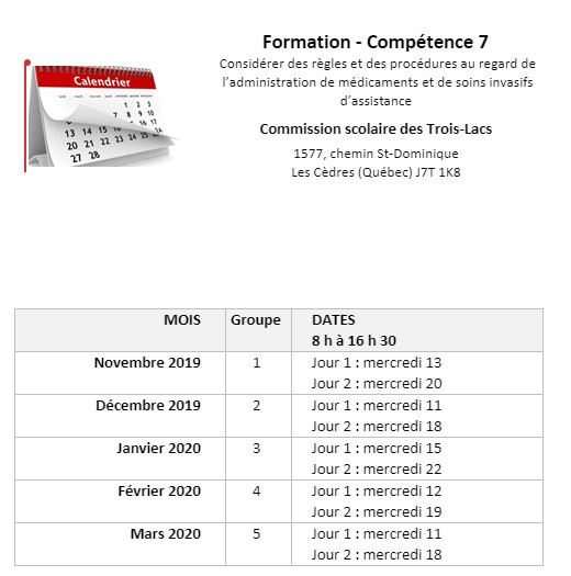 calendrier comp7